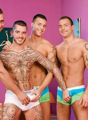 Hot Guy Jason Visconti,Jimmy Visconti,Joey Visconti,Logan Mccree,