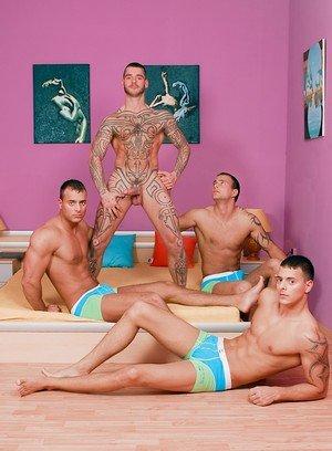 Sexy Dude Jason Visconti,Jimmy Visconti,Joey Visconti,Logan Mccree,
