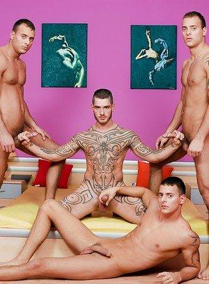 Big Dicked Gay Logan Mccree,Joey Visconti,Jimmy Visconti,Jason Visconti,