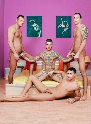 Hot Gay Jason Visconti,Jimmy Visconti,Joey Visconti,Logan Mccree,