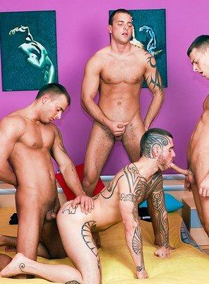 Handsome Guy Jason Visconti,Jimmy Visconti,Joey Visconti,Logan Mccree,