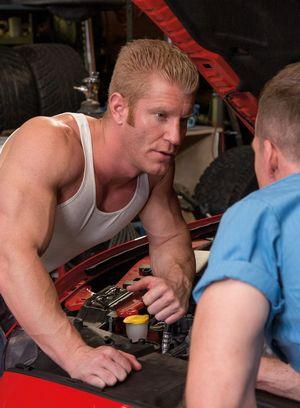 Hot Gay Johnny V,Nate Stetson,