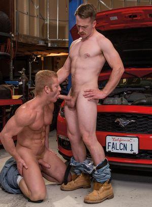 Big Dicked Gay Johnny V,Nate Stetson,