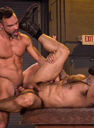 Naked Gay Manuel Skye,Rikk York,