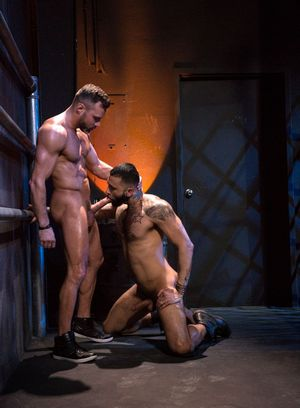 Wild Gay Manuel Skye,Rikk York,