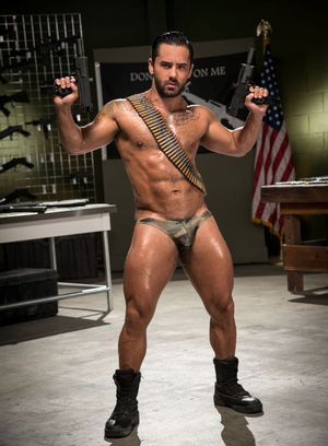 Hot Gay Michael Roman,Bruno Bernal,Pierce Paris,