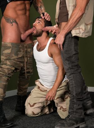 Wild Gay Michael Roman,Bruno Bernal,Pierce Paris,