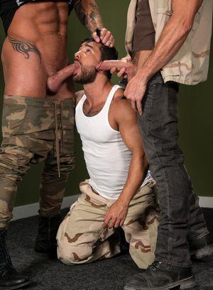 Wild Gay Pierce Paris,Michael Roman,Bruno Bernal,