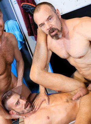 Horny Gay Jett Rink,Jack Gunther,Max Sargent,