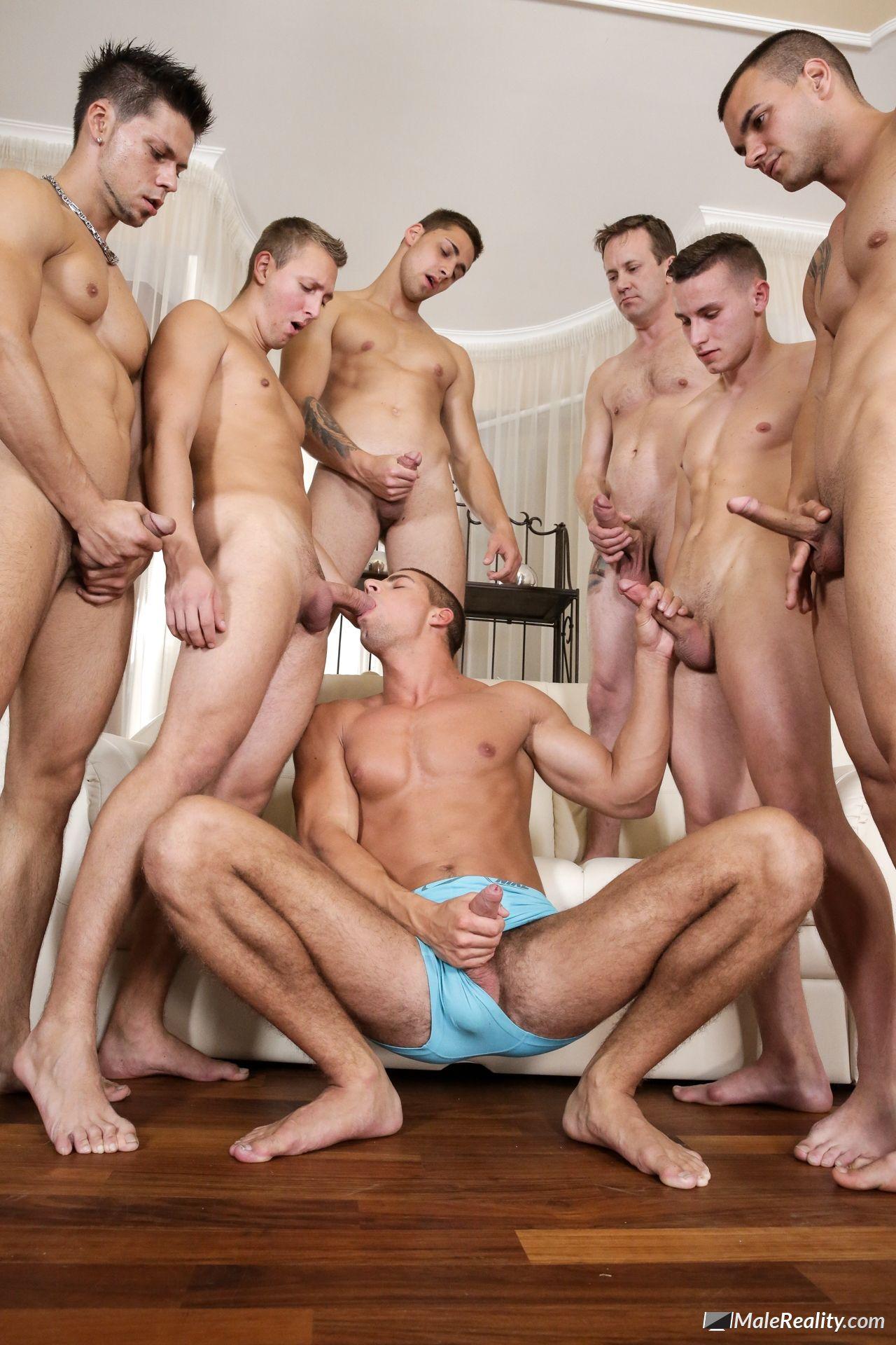 Arny Donan Orgy Gay Porn arny donan gets gang banged