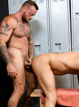 Naked Gay Bryce Evans,Sean Duran,