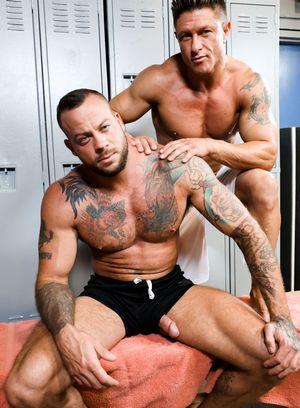 Big Dicked Gay Bryce Evans,Sean Duran,