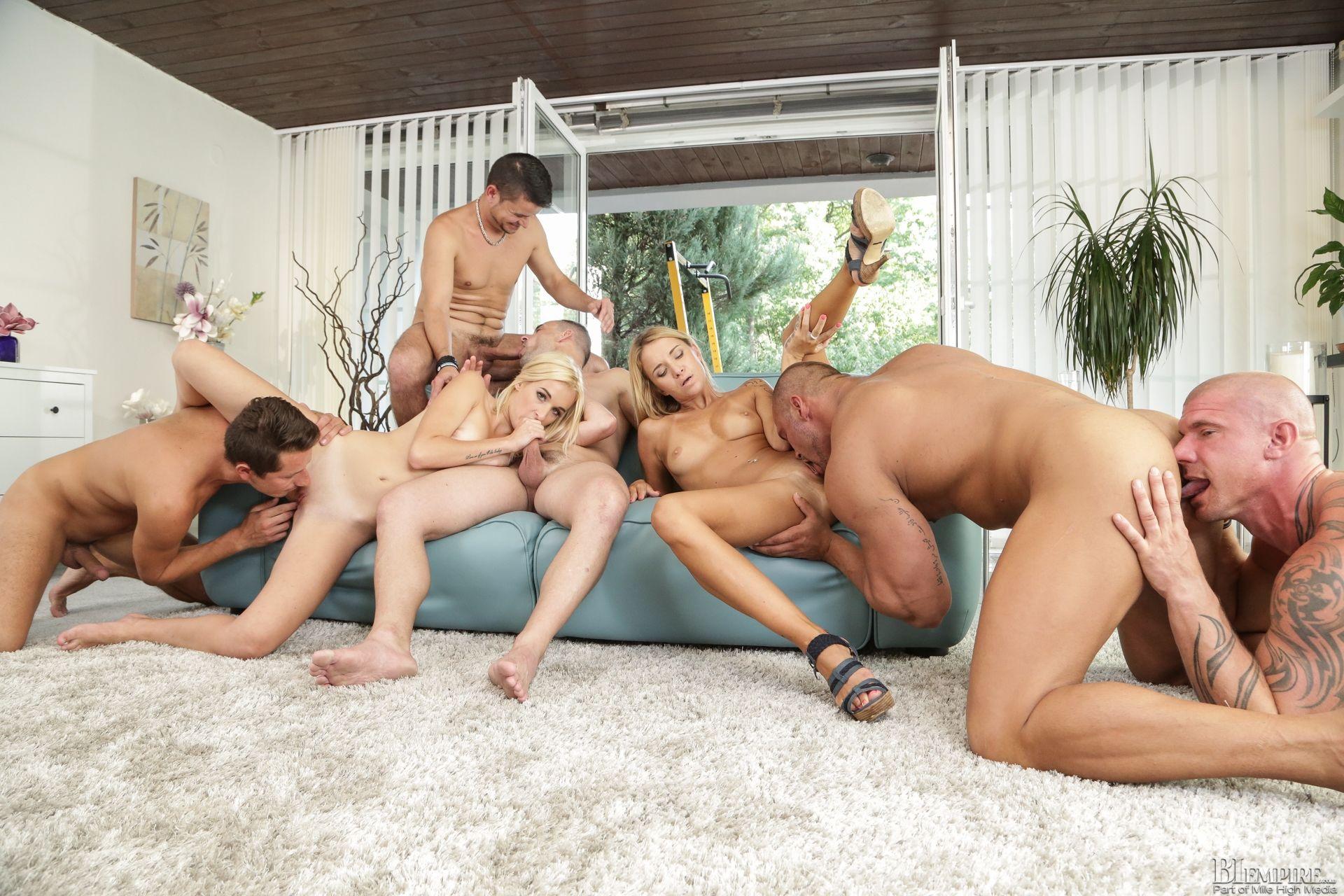 Bisexual orgy tgp