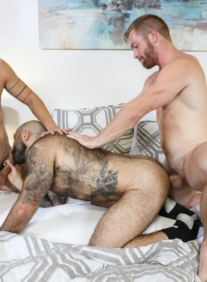 Hunky Gay Atlas Grant,Cesar Rossi,Scott Riley,