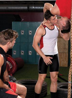Big Dicked Gay Steven Lee,Grant Ryan,Woody Fox,