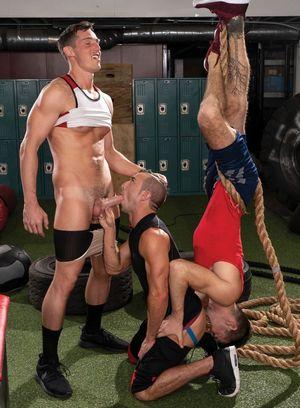 Cute Gay Steven Lee,Grant Ryan,Woody Fox,