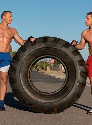 Hot Gay Adam Gregory,Roman Todd,