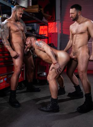 Naked Gay Colby Tucker,Riley Mitchell,Jason Vario,