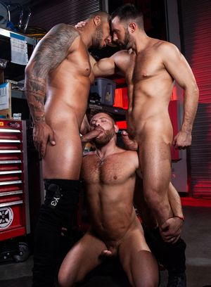 Seductive Man Colby Tucker,Riley Mitchell,Jason Vario,