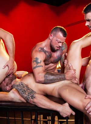 Good Looking Guy Sean Duran,Woody Fox,Dante Colle,Riley Mitchell,
