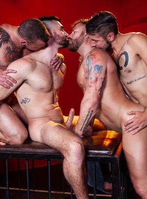 Wild Gay Dante Colle,Riley Mitchell,Sean Duran,Woody Fox,
