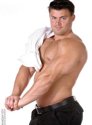 Muscle man Tomas Mach,