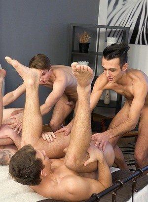 Naked Gay Mirek Madl,Petr Plodner,Rosta Benecky,Petr Cisler,