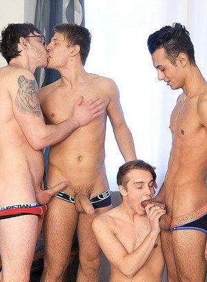 Cute Gay Mirek Madl,Petr Plodner,Rosta Benecky,Petr Cisler,