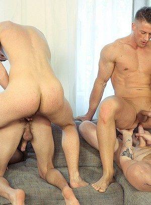 Hunky Gay Tom Vojak,Tomas Decastro,Laco Meido,