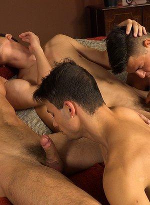 Big Dicked Gay Honza Onus,Martin Gajda,Martin Polnak,Romi Zuska,