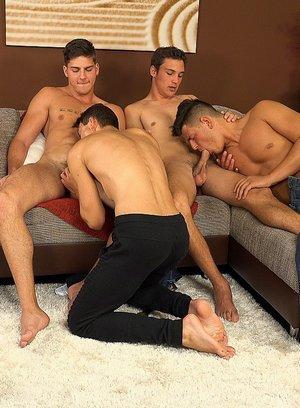Cute Gay Honza Onus,Martin Gajda,Martin Polnak,Romi Zuska,