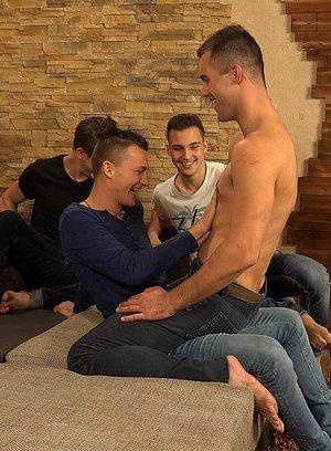 Hot Gay Dusan Polanek,Martin Polnak,Alan Carly,