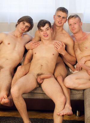 Hot Gay Tomas Berger,Tom Vojak,Karel Polak,Filip Onalek,