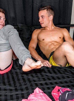 Naked Gay Baptiste Garcia,Tom Clover,