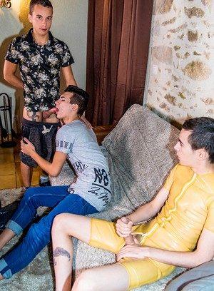 Big Dicked Gay Baptiste Garcia,Anthony Sollis,Alexis Tivoli,