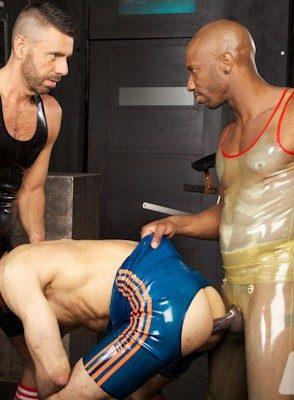 Hot Gay Ale Tedesco,Sylvain Lyk,Race Cooper,