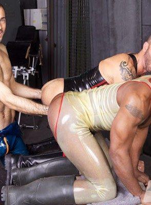 Naked Gay Ale Tedesco,Sylvain Lyk,Race Cooper,