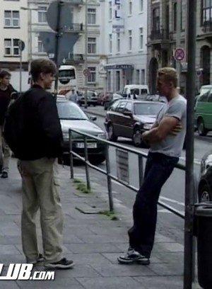 Muscle man Erik Finnegan,Patrik Ekberg,