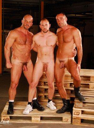 Naked Gay Carlo Cox,David Serra,Vin Costes,