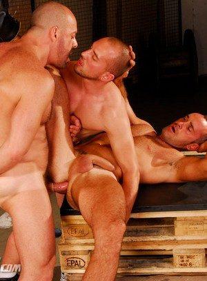 Seductive Man Carlo Cox,David Serra,Vin Costes,