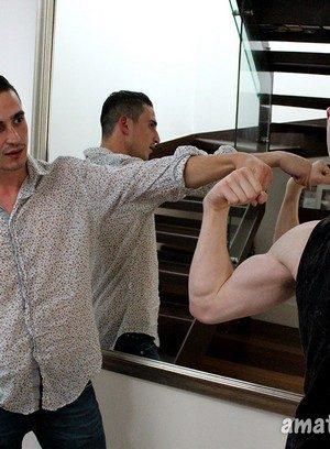Muscle man Dane Dude,