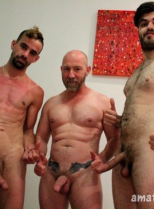 Hunky Gay Mitch Bear,Blake Badarse,Leo Rocca,