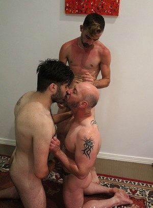 Naked Gay Blake Badarse,Leo Rocca,Mitch Bear,