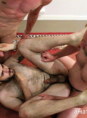 Big Dicked Gay Mitch Bear,Blake Badarse,Leo Rocca,