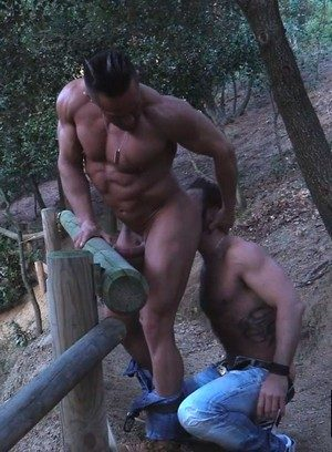 Naked Gay Alex Brando,Martin Mazza,