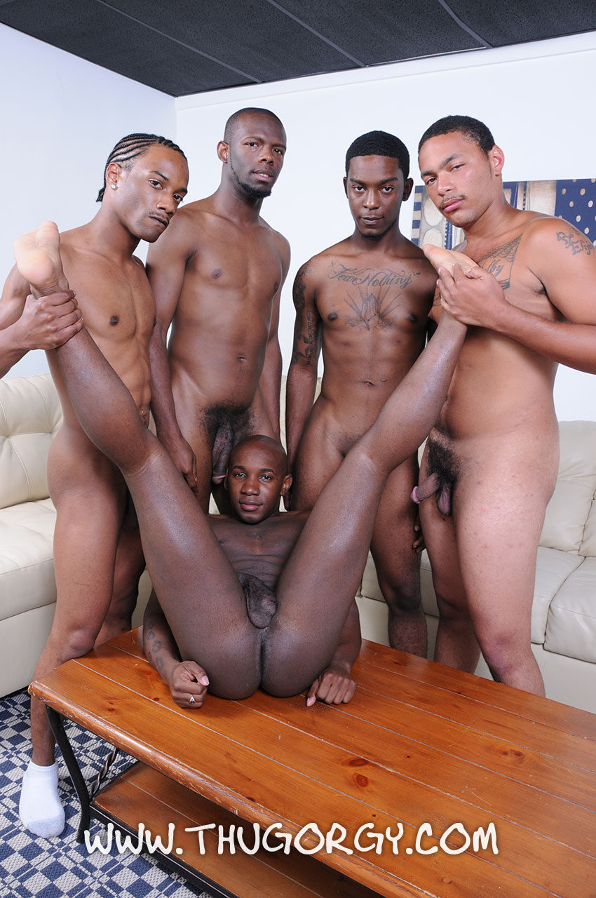 Black Gay Thugs fuck and show you how to do