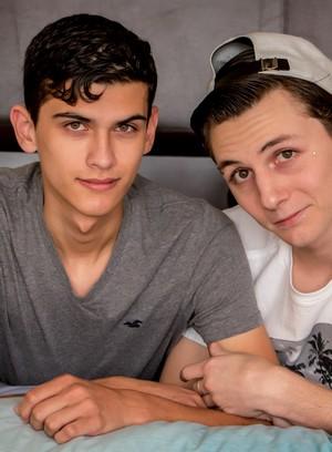 Hot Gay Justin Cross,Trey Bentley,