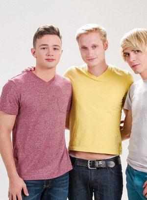 Hot Gay Logan Cross,Kyle Ross,Max Carter,