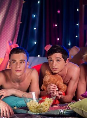 Hot Gay Jessie Montgomery,Brad Chase,Grayson Lange,