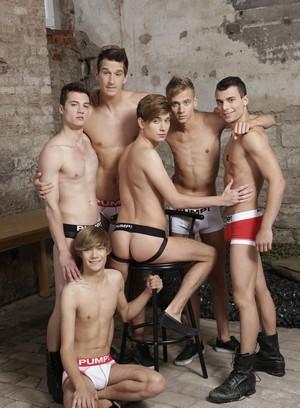 Sexy Dude Yuri Adamov,Troy Vara,Ray Mannix,Noah Matous,Nick Vargas,Benjamin Dunn,